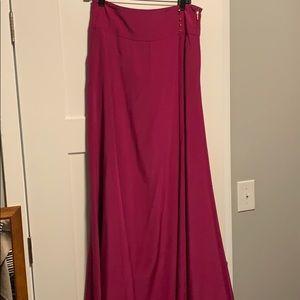 Tory Burch maxi silk skirt